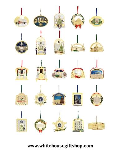 Whitehouse Christmas Ornament
