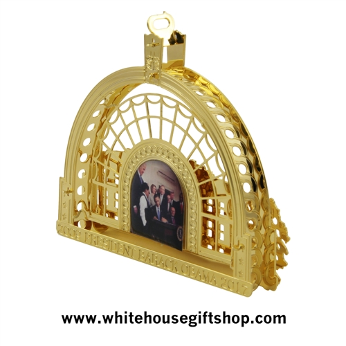The 2016 Barack Obama White House Ornament Amp Model Of The