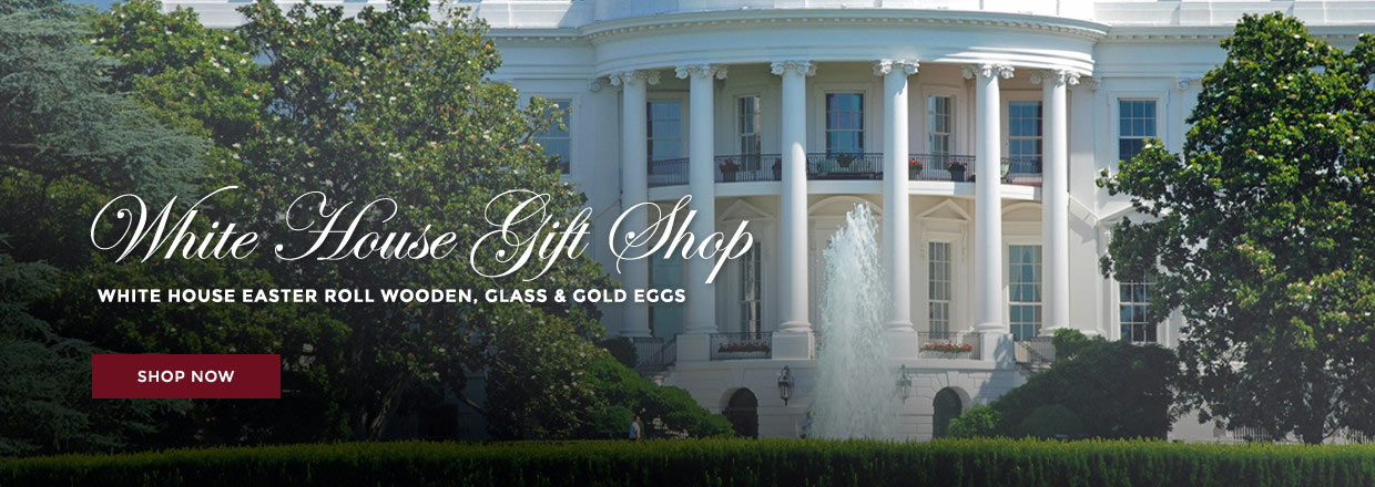 The white house gift shop est 1946 by permanent order of the white house gift shop est 1946 by permanent order of president h s truman is your source for 70 years of authentic white house presidential negle