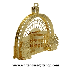 Obama Health Care Act Ornament - See Also Biden Limited Edition Inauguration Coin - Designer Anthony Giannini, White House Official Original Gift Shop, Est. 1946
