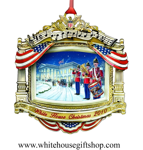 2010 White House Historical Ornament, WILLIAM McKINLEY
