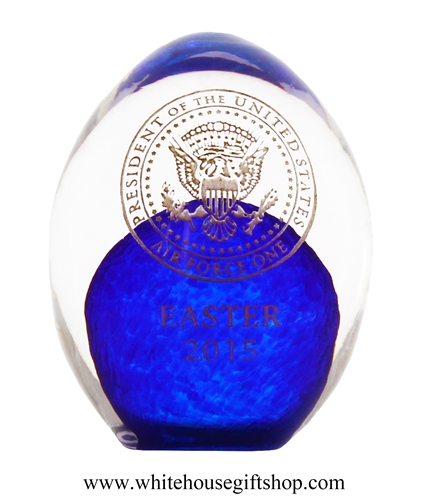 2015 Air Force One Annual Glass Easter Egg Giannini