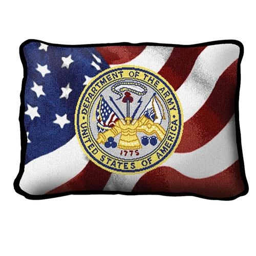 Best ARMY, United States Department of Defense Pillow, Made in America  WN27