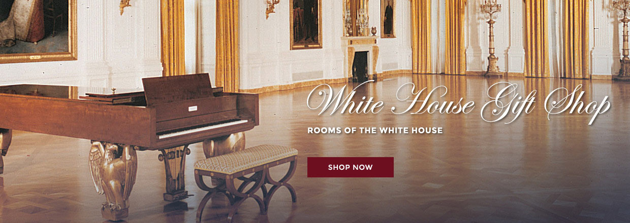 The white house gift shop est 1946 by permanent order of president the white house gift shop est 1946 by permanent order of president h s truman is your source for 70 years of authentic white house presidential m4hsunfo Choice Image